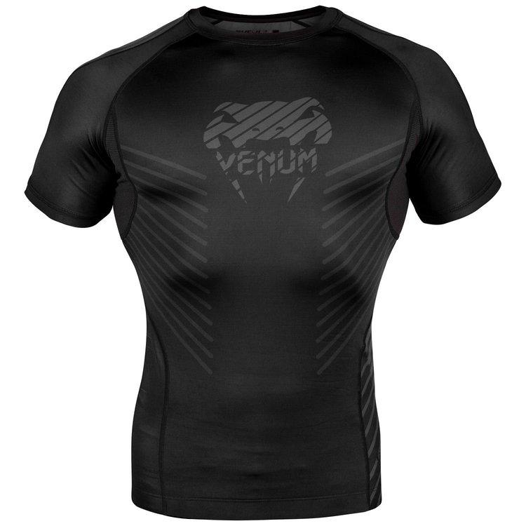 Venum Venum Plasma Rash Guards S/S Black Black