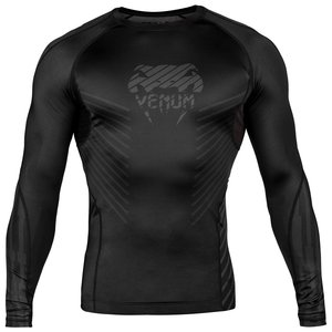 Venum Venum Plasma Rash Guards L/S Black Black