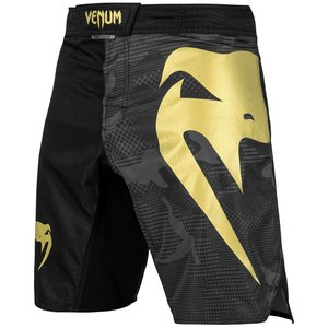 Venum Venum Fight Shorts Light 3.0 Black Gold Camo