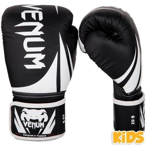 Venum Venum Challenger 2.0 Kids Boxing Gloves Black White