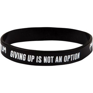 Venum Venum Rubber Wrist Band Giving Up is not an Option