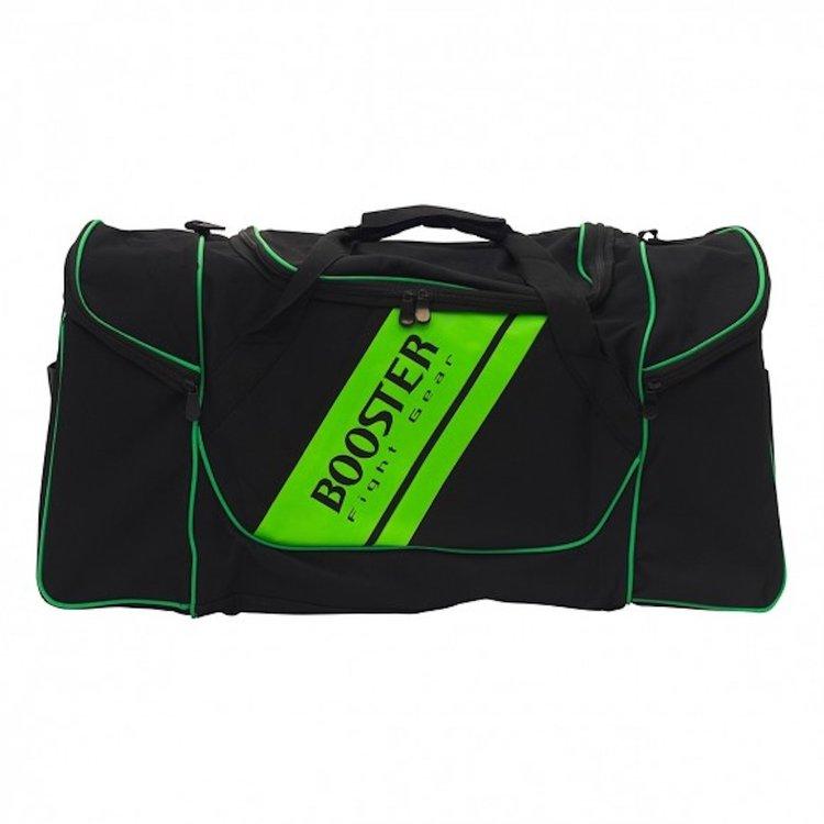 Booster Booster Team Duffel Training Bag Sporttasche Schwarz Grün