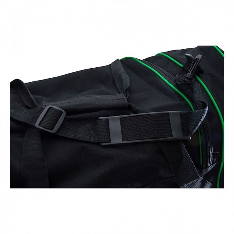 Booster Booster Team Duffel Training Bag Sportsbag Black Green