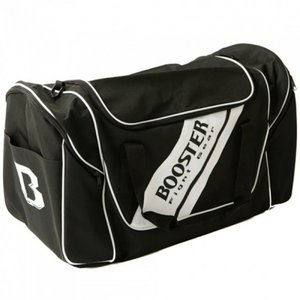 Booster Booster Team Duffel Training Bag Sporttas Zwart Wit