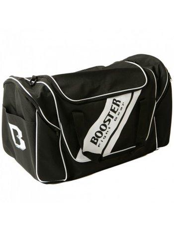 Booster Booster Team Duffel Training Bag Sporttas Zwart Wit