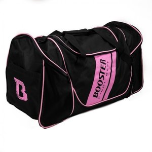 Booster Booster Team Duffel Training Bag Sporttas Zwart Roze
