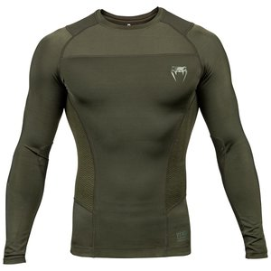 Venum Venum Rash Guard G-Fit L/S Khaki Groen
