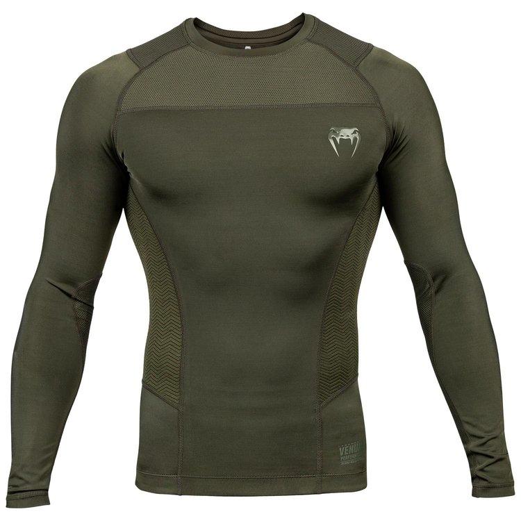 Venum Venum Rash Guard G-Fit L/S Khaki Green