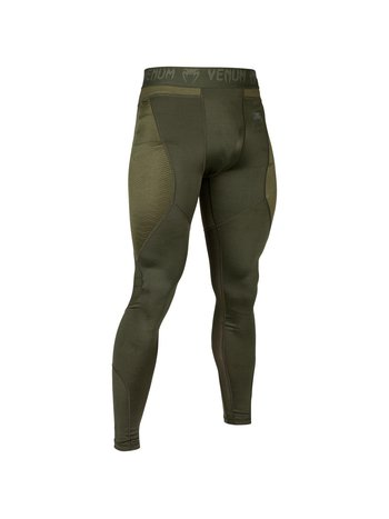 Venum Venum Legging G-Fit Compression Pants Khaki Green