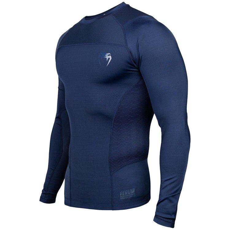 Venum Venum Rashguard Compression ShirtG-Fit L/S Blue