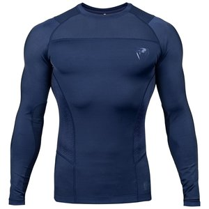 Venum Venum Rashguard Compression Shirt G-Fit L/S Blue