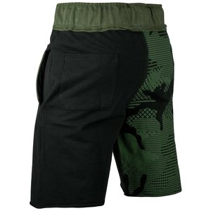 Venum Venum Assault Cotton Training Shorts Black Camo Green