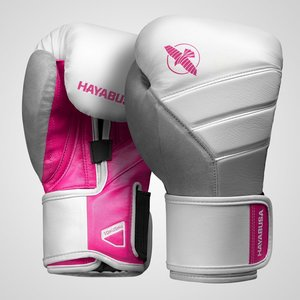 Hayabusa Hayabusa Ladies Boxing Gloves T3 White Pink Kickboxing Gloves