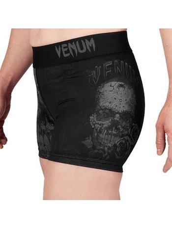 Venum Venum Women Santa Muerte 3.0 Shorts Schwarz Schwarz