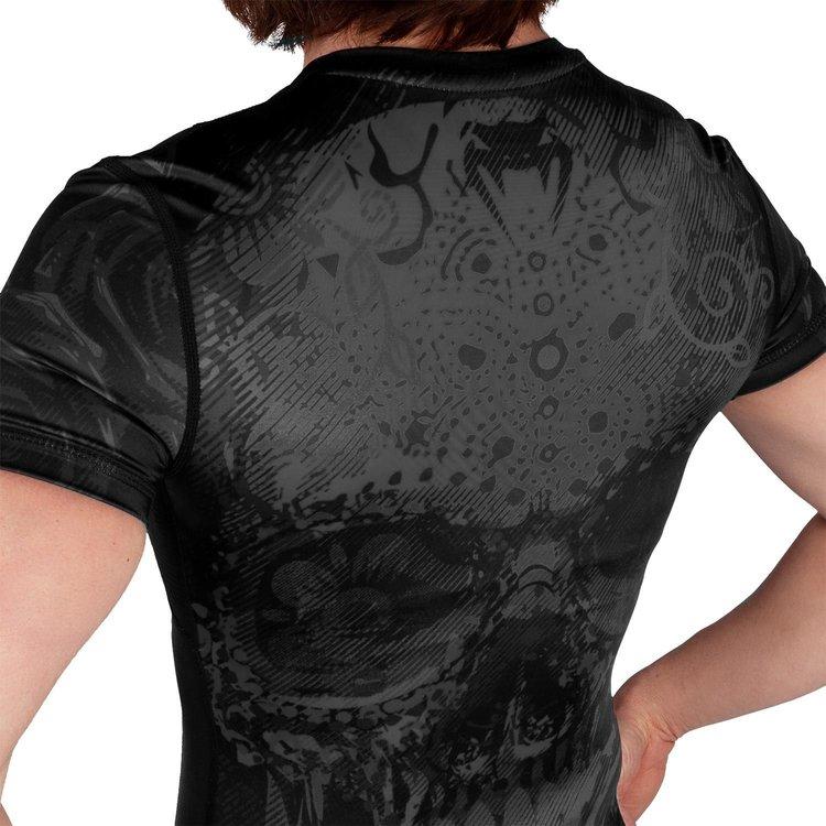 Venum Venum Dames Santa Muerte 3.0 Rash Guard Zwart Zwart