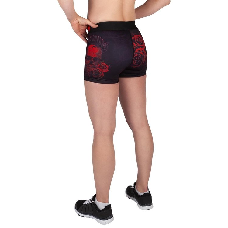 Venum Venum Dames Shorts Santa Muerte 3.0 Zwart Rood