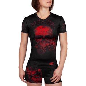 Venum Venum Women Santa Muerte 3.0 Rash Guard Black Red