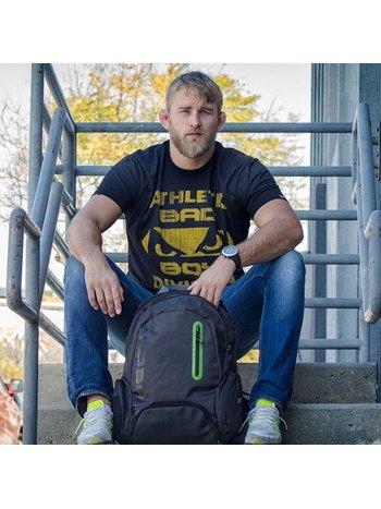 Bad Boy Bad Boy Built T-Shirt Schwarz Gelb