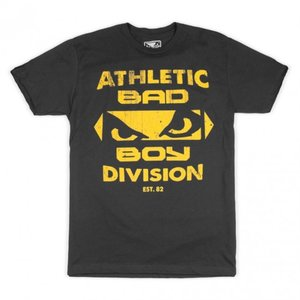 Bad Boy Bad Boy Built T-shirt Zwart Geel