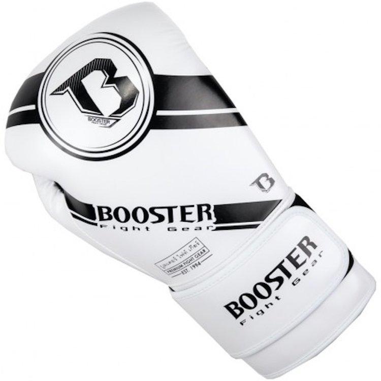 Booster Booster Boxing Gloves BG Premium Striker 2 White Black