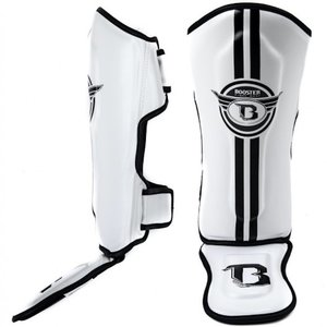 Booster Booster Kids Shinguards SG YOUTH ELITE 4 White Black