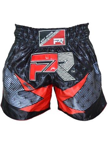 PunchR™  Punch Round Evoke Kickboks Broek Zwart Rood