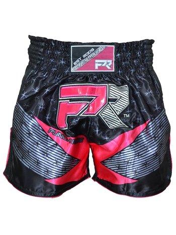 PunchR™  Punch Round Evoke Dames Kickboks Broek Zwart Roze