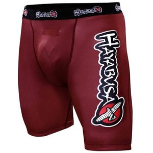 Hayabusa Hayabusa Haburi Compression Shorts Red