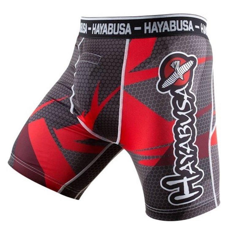 Hayabusa Hayabusa Metaru 47 Compression Shorts Red