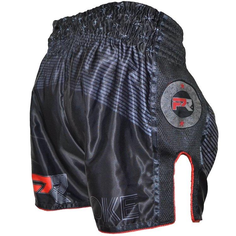 Punch Round™  Punch Round Evoke Kickboks Broek Zwart Rood