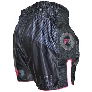 Punch Round™  Punch Round Women Muay Thai Short EVOKE Black Pink
