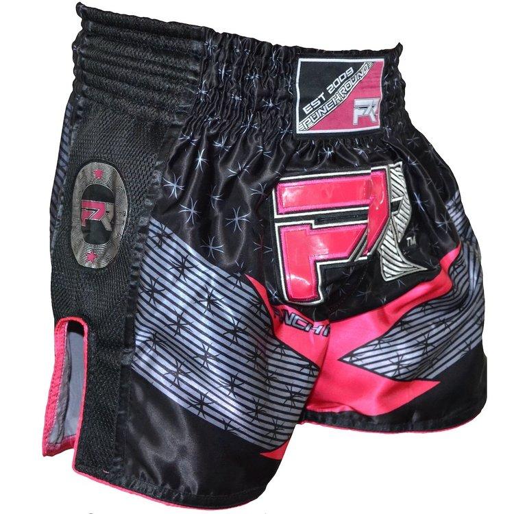 Punch Round™  Punch Round Evoke Dames Kickboks Broek Zwart Roze