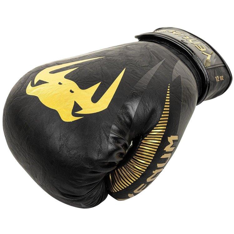 Venum Venum Impact Boxing Gloves Black Gold Muay Thai