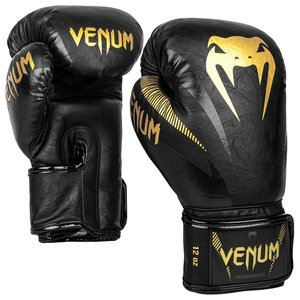 Venum Venum Impact Boxing Gloves Black Gold Muay Thai