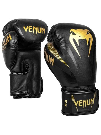 Venum Venum Impact Bokshandschoenen Zwart Goud Muay Thai