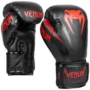 Venum Venum Impact Muay ThaiBoxhandschuhe Schwarz Rot