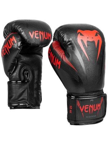 Venum Venum Impact Muay Thai Bokshandschoenen Zwart Rood