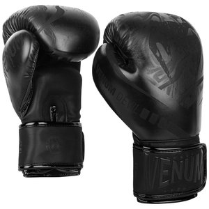 Venum Venum Devil Boxing Gloves Black on Black
