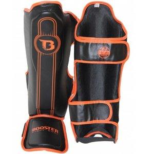 Booster Booster Kickboxing Scheenbeschermers Pro Range BGL 1 V6 Zwart Oranje
