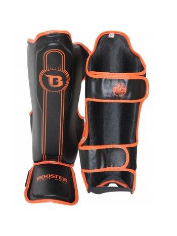 Booster Booster KickboxingSchienbein Schützer Pro Range BGL 1 V6 Schwarz Orange
