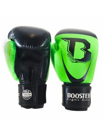 Booster Booster Boxing Gloves Pro Siam 3 Black Green