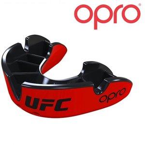 UFC OPRO UFC Mondbeschermer Zilver Rood ZwartVolwassene