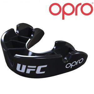 UFC OPRO Mundschutz Schwarzer Erwachsener