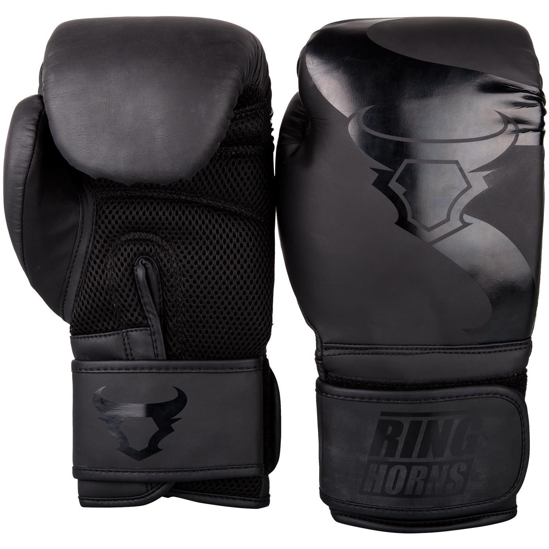 Ringhorns Charger Sparring Gloves Black//Black