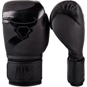 RING HORNS Ringhorns Charger Boxhandschuhe Schwarz Schwarz