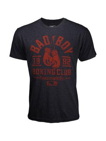 Bad Boy Bad Boy Boxing Club T-Shirt Schwarz Rot Kampfsport Kleidung