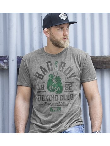 Bad Boy Bad Boy Boxing Club T-Shirt Grau Grün Limited Edition