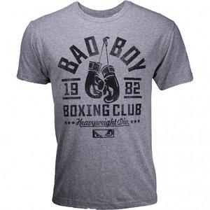 Bad Boy Bad Boy Boxing Club T Shirt Grey Black Martial Arts Clothing