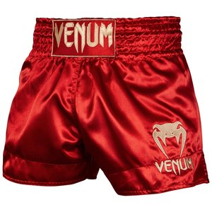 Venum Venum Muay Thai Klassisches Kickbox Shorts Rot