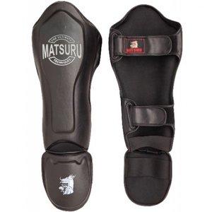 Matsuru Matsuru Kickboks Shin Instep Protector De Breker Black